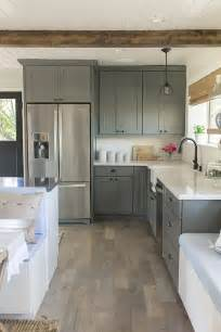 Gray Kitchen With White Cabinets by 20 Gorgeous Gray And White Kitchens Maison De Pax