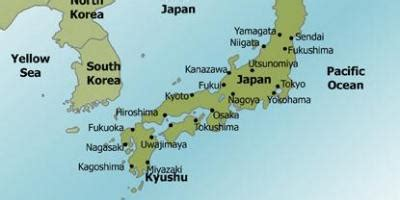 map of japan major cities map japan major cities map of japan major cities