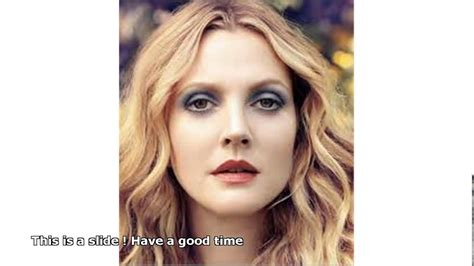 Drew Barrymore Signs Major Caign With Covergirl Cosmetics by Drew Barrymore Makeup Tutorial