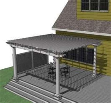 Deck Awning Options Shading Options For Your Patio Or Deck