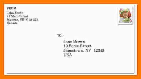 8 envelope address template park attendant