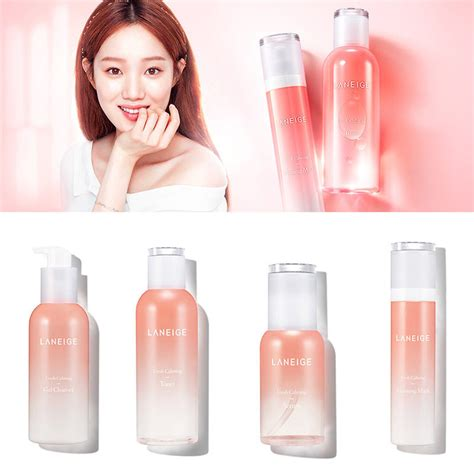 Laneige Fresh Calming Gel Clenaser laneige fresh calming gel cleanser toner serum pacific korea cosmetics ebay