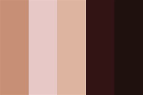 skin tones 8 color palette