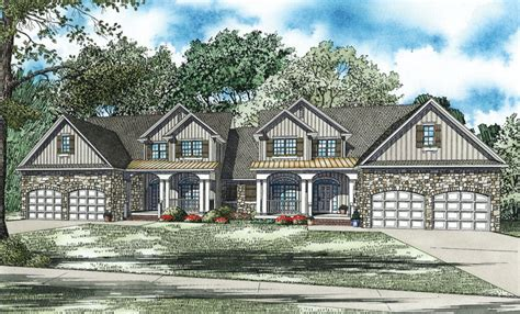 Houseplans And More by Ensenada Luxury Duplex Home Plan 055d 0888 House Plans