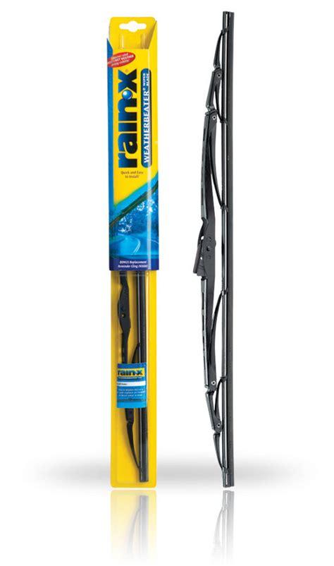 how to get rainx windshield windshield wiper blade professional weatherbeater wiper