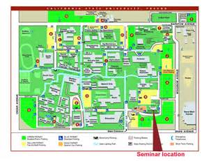 Fresno State Map by Csu Fresno State Map