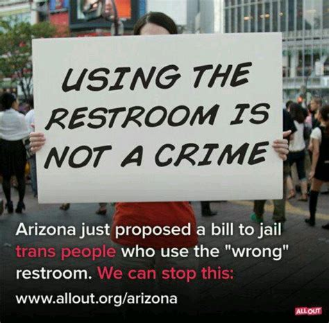 arizona trans bathroom bill 91 best images about no h8 on