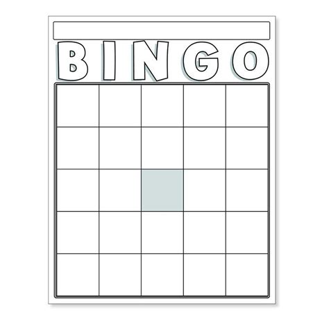White Stuff Gift Card - blank bingo cards white number recognition school lessons and school