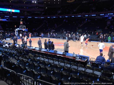 msg section 2 madison square garden section 6 new york knicks