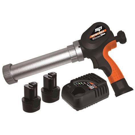 Silicone Gun Tebal Soligen sp tools 12v lithium ion cordless cartridge caulking gun kit 400ml sp81362 dt sales items