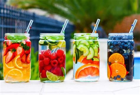 Fruits Detox by Make These 4 Detox Waters This Summer To Help Cleanse The