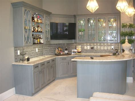 grey stained kitchen cabinets stylish and cool gray kitchen cabinets for your home