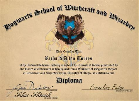 hogwarts certificate template hogwarts diploma by ratorr2 on deviantart