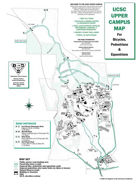 map uc santa a glimpse at ucsc s cus indybay