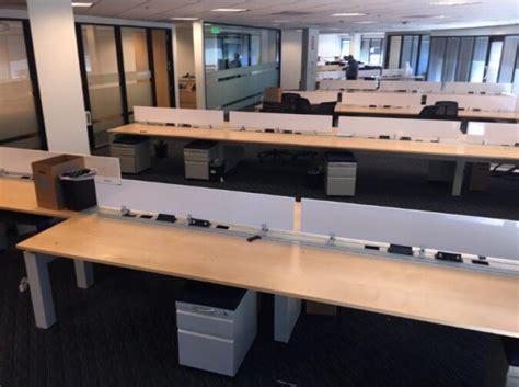 teknion benching used teknion benching 6x4 low panels used cubicles
