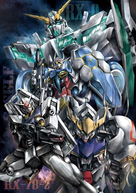 P R O M O Rg Gundam Rx 78 2 gundam digital artworks part 1 gundam kits collection