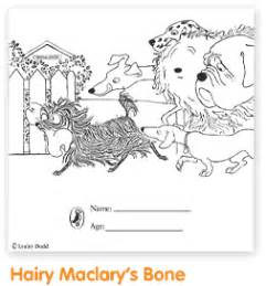Hairy Maclary Coloring Pages   kids mini book collection