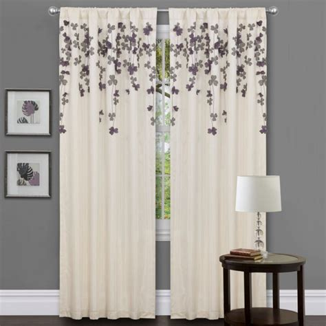 grey and white drapes different curtain design patterns home designing
