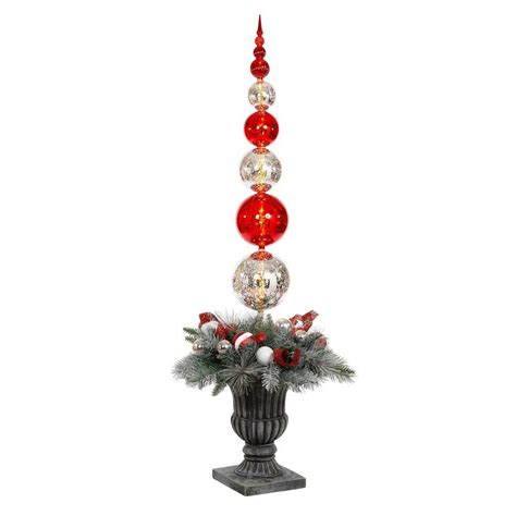 home accents holiday 5 ft battery operated plastic ball