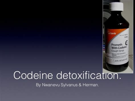 Codeine Detox Symptoms by Codeine Detoxification