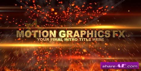 Revostock After Effects Templates Free by Slam Trailer Intro Fx After Effects Project Revostock