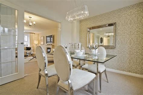Show Home Dining Room by The Eynsham Wimpey