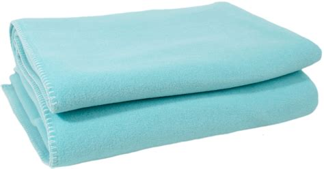 Decke Soft Fleece Babyblau   Interismo Onlineshop