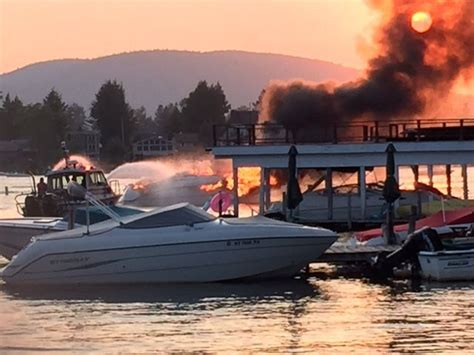 boat gas tank not filling lake george boat fire appears linked to gas filling error