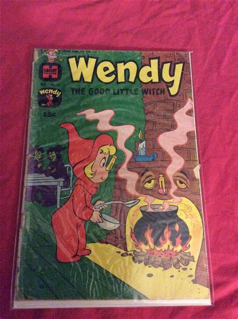 wendy the good little witch comic book vintage harvey comic book wendy the good little witch