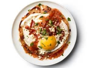huevos rancheros with bacon tortillas recipe food