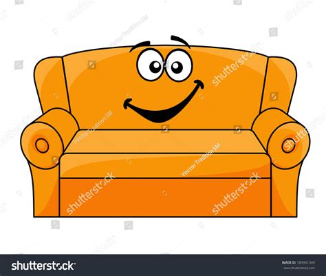 comfy couch cartoon big comfy chair drawing