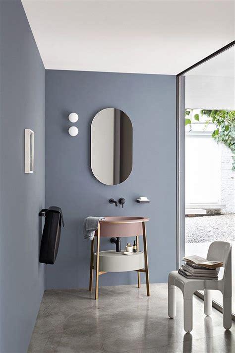 Attractive Meuble Salle De Bain Rose Fushia  #8: 14e2fb466447e96b9c2e76347327e3a0--colorful-bathroom-oval-bathroom-mirror.jpg