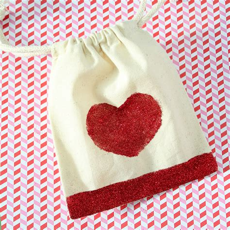 diy valentines day favor bags creative juice