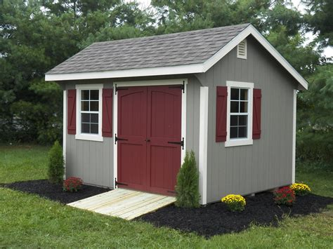 time and cost to build a basic backyard shed