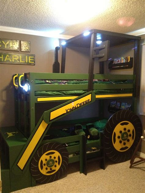tractor bunk bed ana white john deere tractor bunk bed diy projects
