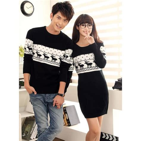 Matching Jumpers For Couples Boyfriend Matching Winter Jumper For 2