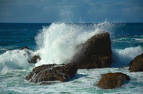 Crashing On The by Quot Waves Crashing Laguna Rocks Quot By Johnboy53 Redbubble