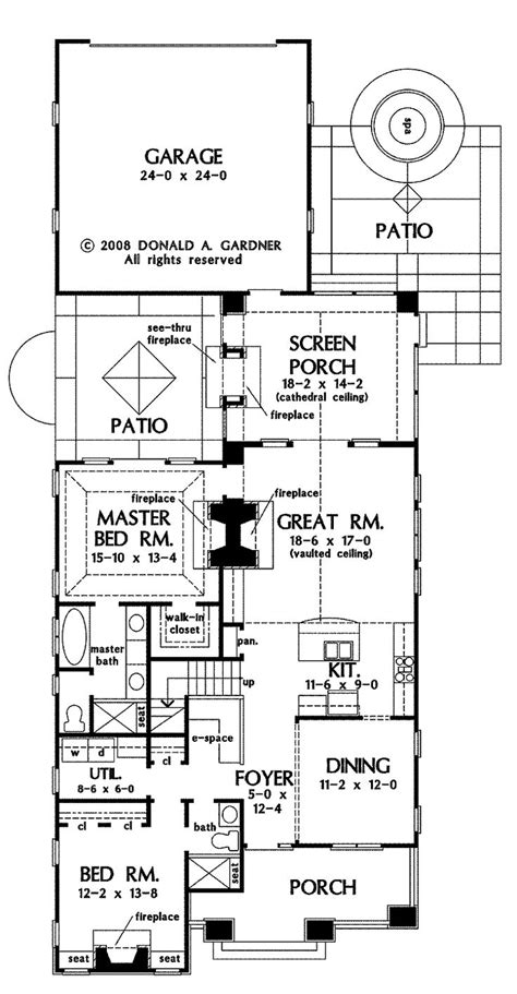 House Plans On Narrow Lots by 25 Best Ideas About Narrow Lot House Plans On