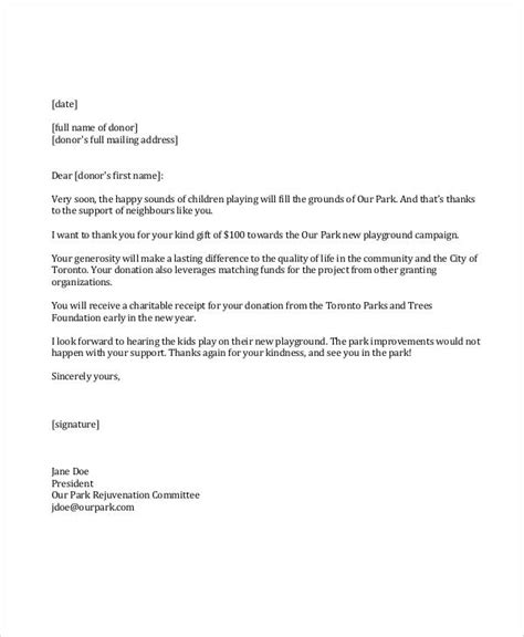 Fundraising Committee Thank You Letter thank you letter for school fundraiser donation docoments ojazlink