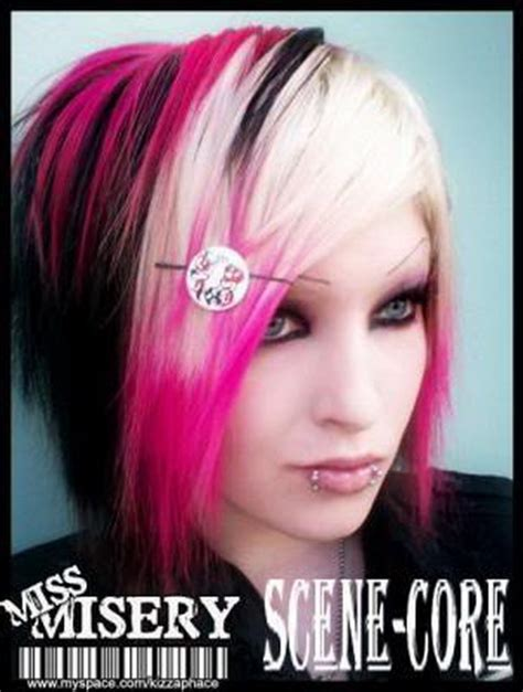 Black And Pink Hairstyles by Black And Pink Hairstyles
