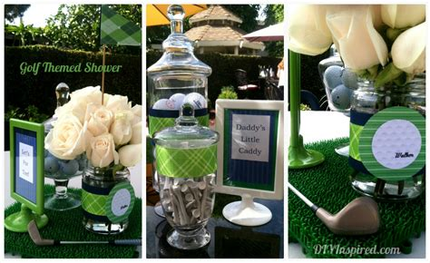 golf themed decorating ideas golf themed baby shower diy inspired