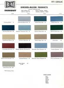 Cadillac Color Codes Official Cadillac Color Names And Paint Codes Page 4