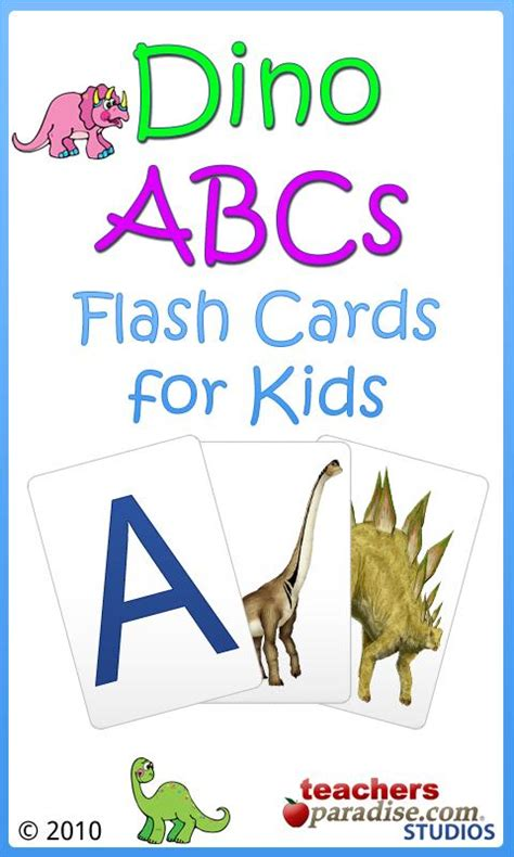 printable dinosaur alphabet flash cards dino abcs alphabet for kids android apps on google play