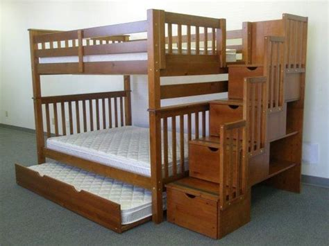 Bunk Bed With Stairs Plans Building Plans For Bunk Beds With Stairs Woodworking Projects