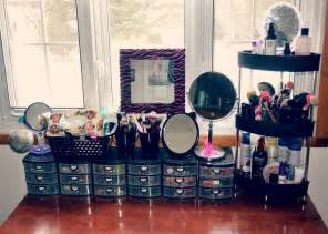 How To Organize A Vanity Diy Makeup Organizer With Catchy Look