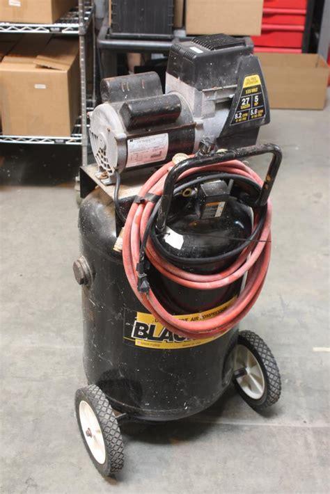 coleman powermate black max direct drive air compressor