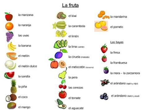 spanish foods list spanish food vocabulary worksheet wiildcreative