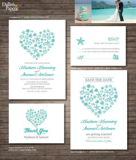 wedding invitation printables destination wedding