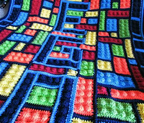 pattern library sle ravelry lego inspired blanket pattern by alexi westover
