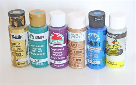 acrylic paint and craft what paint to use and when comparing craft and acrylic